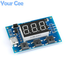 5 pcs 2CH 2 Channel Independent PWM Module Generator Duty Cycle Pulse Frequency Module LED Digital Tube Board Module Micro Usb