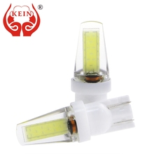 Buy KEIN 12V 24V Wide Voltage 6000K T10 w5w Bulb 194 501 LED car COB Interior Reading Tail Dome Pathway Lighting Parking Signal Lamp for $3.69 in AliExpress store