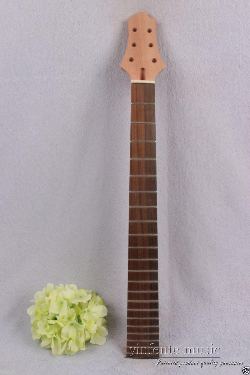 1pcs electric guitar neck solid wood 22 fret 24.75 Truss Rod rose wood #729<br>