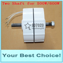 500W AC24V/12V Low RPM WIND TURBINE GENERATOR PERMANENT MAGNET ALTERNATOR (DHL Free Shipping)