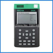 PROVA-200A Solar Module Analyzer Solar Panel Analyzer for Manufacturing & Research of Solar Panels & Module(China)