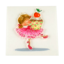 Cake Girl Clear Silicone Rubber Stamp for DIY Scrapbooking/photo Album Decorative Craft Clear Stamp Chapter.(China)