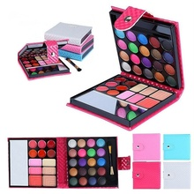 Women Makeup Glitter Eyeshadow Palette 32 colors Fashion Eye Shadow Costmetic Make Up Shadows With Case H7JP