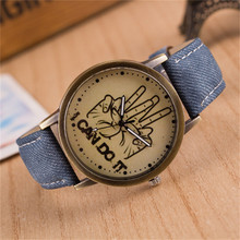Fabulous hot sale luxury fashion faux-leather variety color simulated quartz watch Brand factory prices For Reloj Relogio W057
