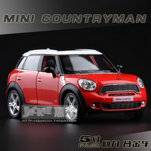 Brand New RMZ City Mini Cooper Countryman 1:36 Scale 5 Inch Diecast Model Car Toys Best Gift for Children Free Shipping