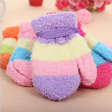 PluckyStar New Lovely Baby Mittens Warm Thicken Cotton Toddler Gloves Comfortable Soft Autumn Winter Girl Cute Gloves G14