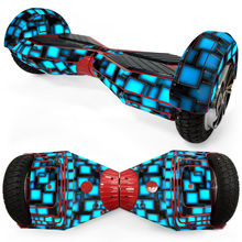 Mini Hoverboard Wrap Cover Sticker Protective Vinyl Skin Decal for 8 Inches Skateboard 2 Wheels Self Balancing Electric Scooter