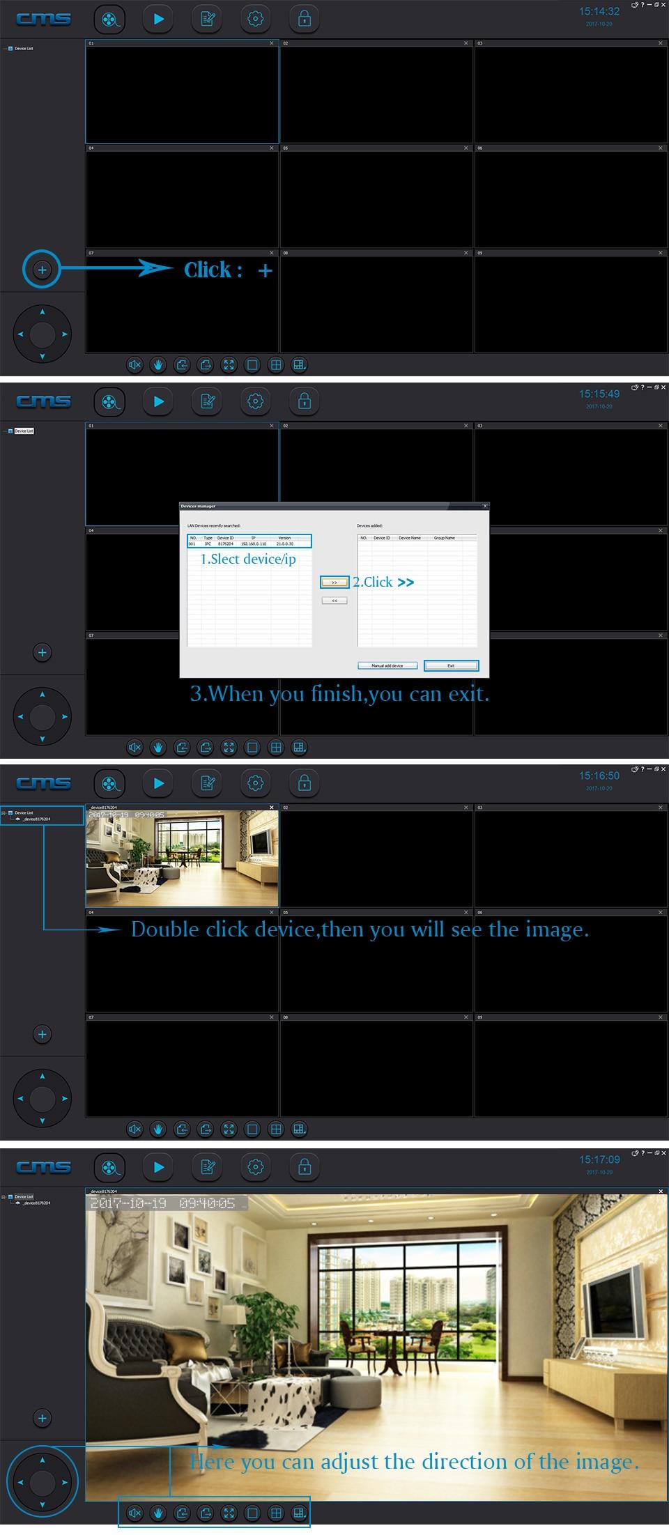 Система видеонаблюдения для ip камер линия ip