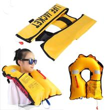 Child Water Sports Life Vest / Jackets Children's Lifejacket Fishing Life Saving Vest Inflatable Life Jacket For Kids Adult