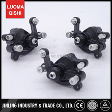3PCS Left/Right/Rear Full set Brake Calipers Fit For 2 Stroke 33cc 43cc 49cc Mini Kids Quad ATV Parts(China)