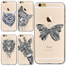 5/5S/SE Soft TPU Cover For Apple iPhone 5 5S SE Cases Phone Shell Super Popular Indian Scenery Pretty Butterfly High Sales