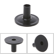 Plastic Long Cymbal Sleeves with Flange Base for Drum Set Pack of 10 Accessories(China)