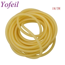6x9mm Natural Latex Slingshots Rubber Tube Tubing For Hunting Catapult Elastic Part Fitness Bungee Equipment