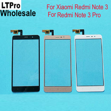 LTPro Wholesale !!! TOP Quality Glass Sensor Touch Screen Digitizer For Xiaomi Redmi Note 3 Hongmi Note3 Pro Phone Replacement(China)