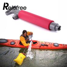 Relefree NEW Inflatable Kayak Pump Hand Pump for Canoe Kayak Floating Rescue 46cm Length(China)