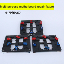 Buy Multi-purpose maintenance Precision board mould iPhone 6 6S 7 Plus motherboard PCB Jig Fixture Holder BGA Chip repair for $26.98 in AliExpress store