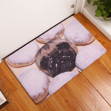 New Anti-Slip Carpets Dog Print Mats Bathroom Floor Kitchen Rugs 40x60 50x80cm