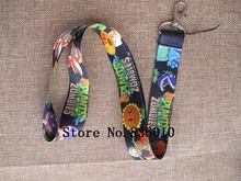 Hot Sale! 10 pcs Popular Game  Key Chains Mobile Cell Phone Lanyard Neck Straps   Favors SZ-165