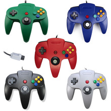 Wired Gamepad Handle Game Controller Pad Joystick for Nintendo System For Nintendo For Gamecube N64 64 PC Mac(China)
