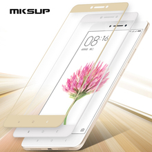 MKSUP For Xiaomi Mi MAX 2 Full cover Tempered Glass 6.44inch 100% New Premium Screen Protector Film For Xiaomi Mi MAX Cell Phone(China)