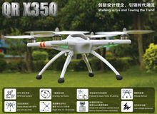 WALKERA QR X350 GPS Drone 6CH Brushless UFO with camera DEVO 7 Transmitter RC Helicopter RTF BNF Free shipping 2013 new
