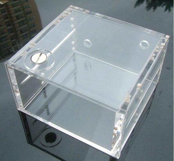 Full transparent water tank acrylic water tank double optical drive bit water tank Dual drive the tank<br>