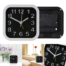 Simple Style Round/Square Child Desktop Clock Bedroom Alarm Clock Table Digital Clock New Home Decoration Clock
