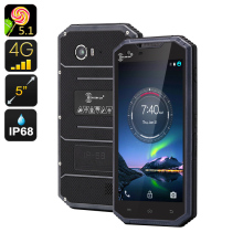 Original Kenxinda W7 IP68 Waterproof Mobile Phone 4G Rugged Android Smartphone ultra thin Slim Shockproof MTK6735 Quad Core(China)