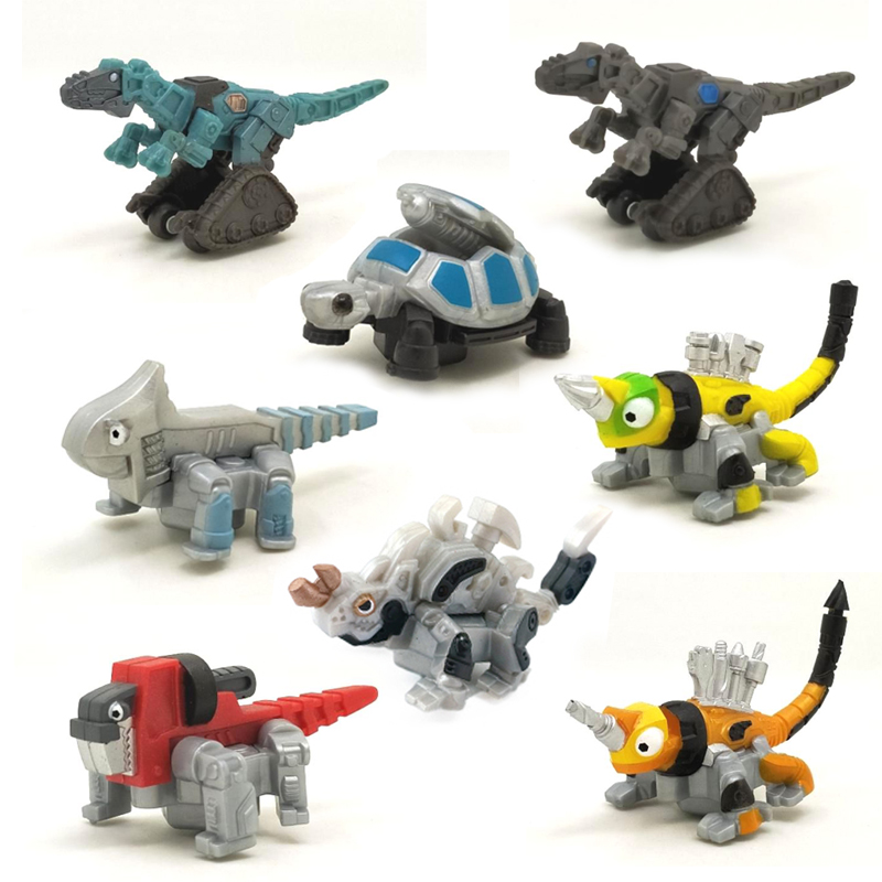 Dinotrux Ty Rux Revvit Kids Children Robot Dinosaur Toys Figure Play Fun Gift