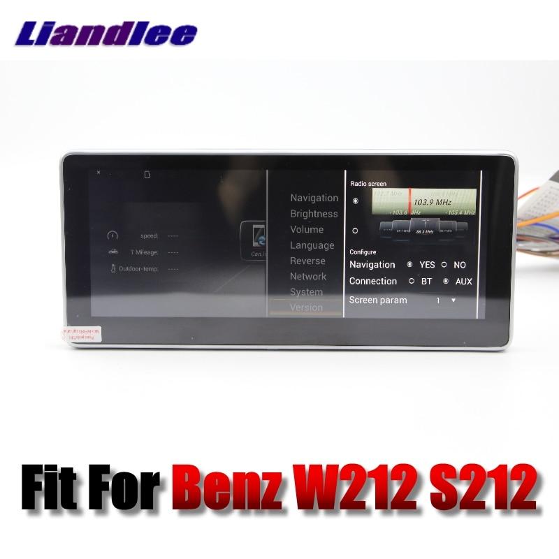 Liandlee Car Multimedia Player NAVI For Mercedes Benz MB E Class W212 S212 2009~2013 Car Radio Stereo GPS Navigation 10