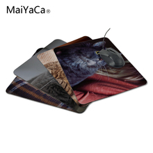 MaiYaCa Unique Design Scared cat Mouse Pad Computer aming Mouse Pad amer Play Mats The best choice for gifts(China)