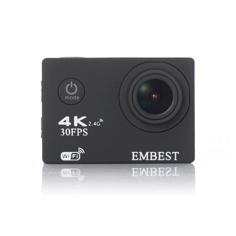 EMBEST 4K WIFI Sports Action Camera With Remote Control Ultra HD Waterproof Underwater 30M Camcorder 16MP 170 Degree Wide Angle 15