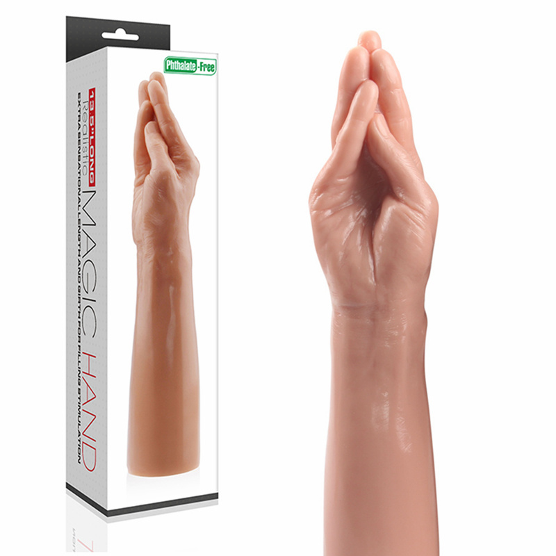 lovetoy Fisting Lifelike Hand With Detailed Fingers As Penis Sex Toy Dildo for Vagina Sex Products Sex toy For Women<br>