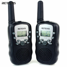 2 pcs 5 Colors EU Frequency Mini Walkie Talkie Kids Radio Retevis RT388 Portable Radio Set 0.5W Two Way Radio Communicator A7027(China)
