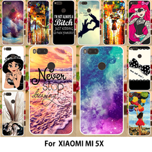 Buy AKABEILA Silicone Soft TPU Phone Cover Xiaomi Mi A1 Cases MiA1 Mi 5X Mi5X Printed Phone Case Cute Phone Cover Shield Hood for $1.98 in AliExpress store