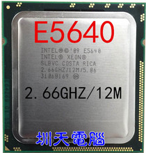 Intel Xeon Processor E5640 e5640 12M Cache 2.66GHz 5.86 GT/s QPI LGA1366 Desktop CPU(China)