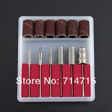 AliExpress Hot Sale 1set New Arrival Professional 6pcs Nail Drill Kit Bits File For Electric Drills And Filling System