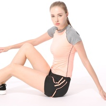 Professional Dry Quick Fitness Casual T Shirt Compression Tights Women Workout Short Sleeve T-Shirts Undershirt Women Tees Tops(China)