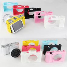 Nice Soft Silicone Rubber Camera Protective Body Cover Case Skin For FujiFilm Fuji X-A2 XA2 Camera Bag