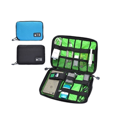 Travel Hard Storage Box Portable Unisex Small Case Organizer Mini Portable Drive Earphone Earphone Bag Usb Flash Cable Organizer(China)