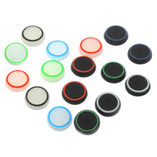 16x Silicone Controller Thumb Stick Grips Cap Cover For Sony PS Playstation Play Station 4 3 PS4 PS3 PS2 Xbox Accessories Parts