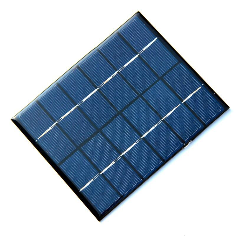 Xionel 2W 6V Mini Solar Panel Module Solar System Kits Polycrystalline Cells Outdoor Camping Battery Charger DIY Parts 110x136mm(China)