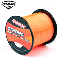 1PC Nylon Line 500M Orange Fishing Line 9.2kg Monofilament Line Japan Material BKY-BG same quality Fishline(Hong Kong)