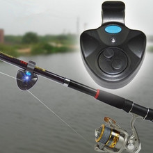 Universal Fishing Alarm Set Wireless Electronic Fish Bite Alarms Finder LED Light Sound Alert Fishing Lines ( Without Battery )(China)