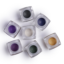IMAGIC 12 Colors Make Up Waterproof Long-lasting Mineral Eye Shadow Glitter Makeup Shimmer Eyeshadow Cream Fashion