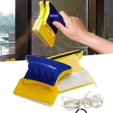 Magnetic Window Double Side Wiper Cleaner Pad Scraper Home Cleaning Brush(China)