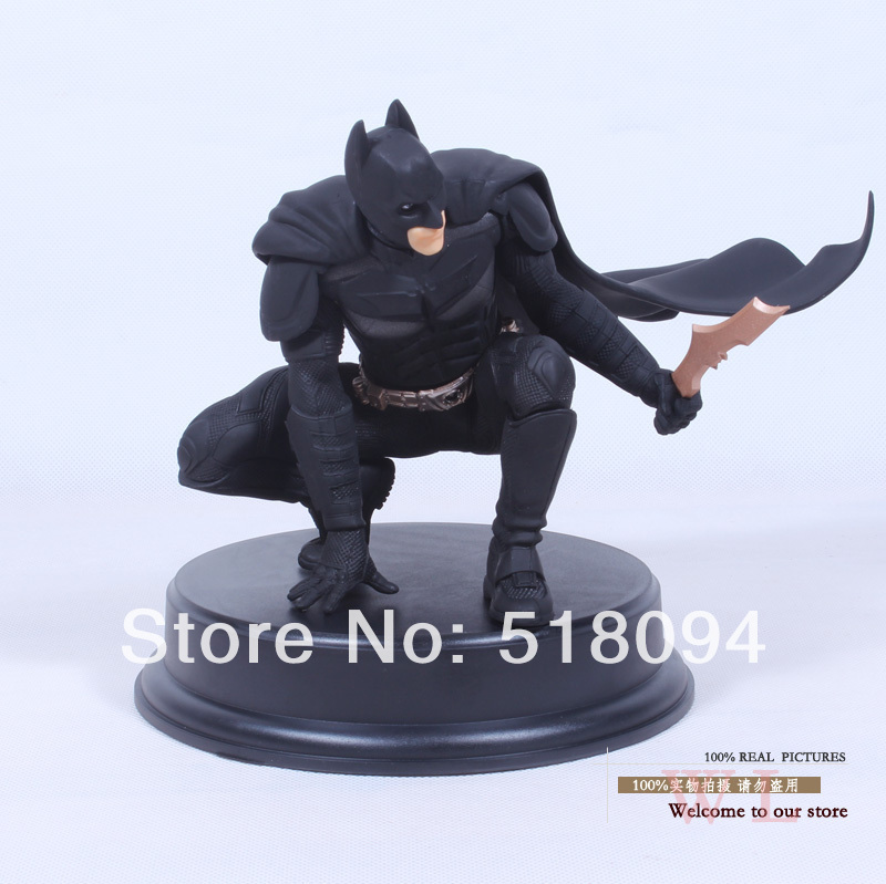 Free Shipping Crazy Toy The Dark Night Rises Batman  Assembly PVC Action Figure Collection Model Toy 22cm New In Box HRFG047<br><br>Aliexpress