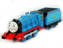 Electric Thomas and friend Trackmaster engine Motorized train Chinldren child kids plastic toys gift  Gordon with truck