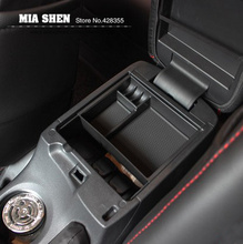 Central Storage Pallet Armrest Container Box case For Mazda 6 MK 6 Atenza 2013-2015/ Mazda MK3 Axela 2014-2016 car accessories