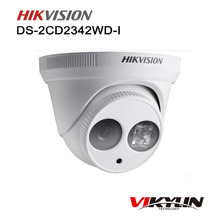 HIK DS-2CD2342WD-I MINI Dome IP Camera CCTV Camera Newest Original English Version 4MP WDR EXIR Turret Network Camera